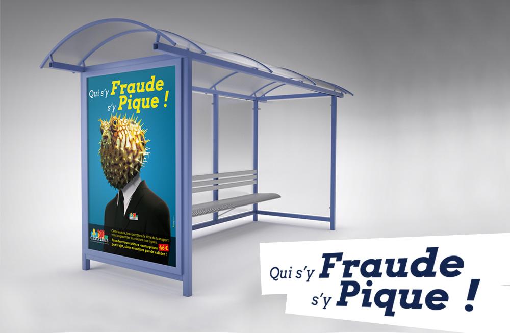 lk tours affiche distribus fraude campagne pagination agence communication print pub web multimedia rixheim alsace haut-rhin 68 mulhouse