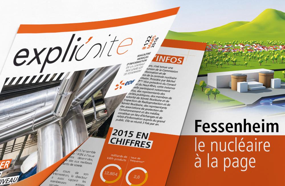 fessenheim edf centrale nucléaire pagination agence communication print pub web multimedia rixheim alsace haut-rhin 68 mulhouse